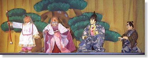 「回春瞬朱鷺」出演人形
